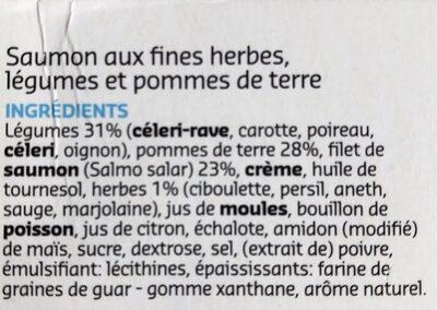 Saumon aux fines herbes - Ingrédients - fr
