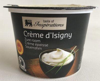 Crème d'Isigny - Product - fr