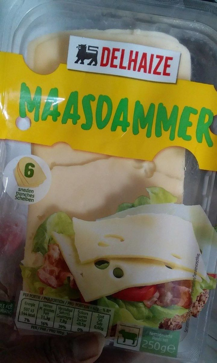 Maasdammer - Product - fr