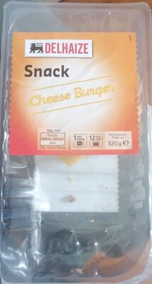 Snack cheese burger - Product