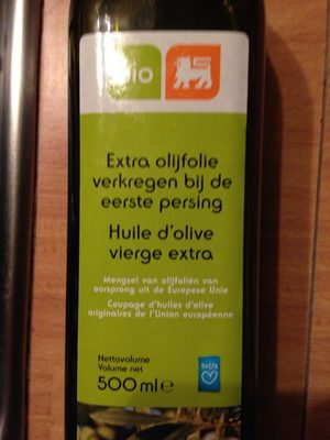Huile D'olive Bio 500ml - Product