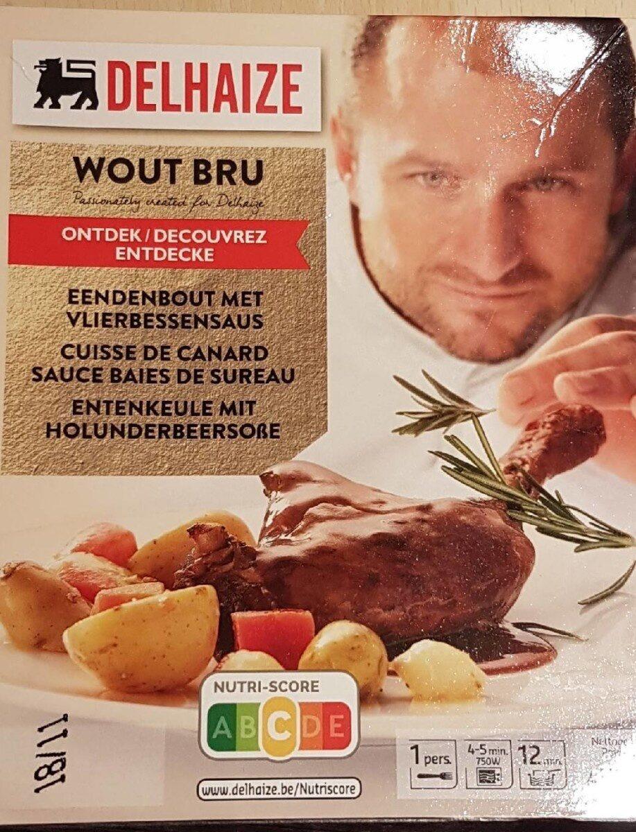 Cuisse de canard sauce baie de sureau - Product - fr