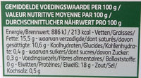 Mozzarella mini classica - Voedingswaarden - fr