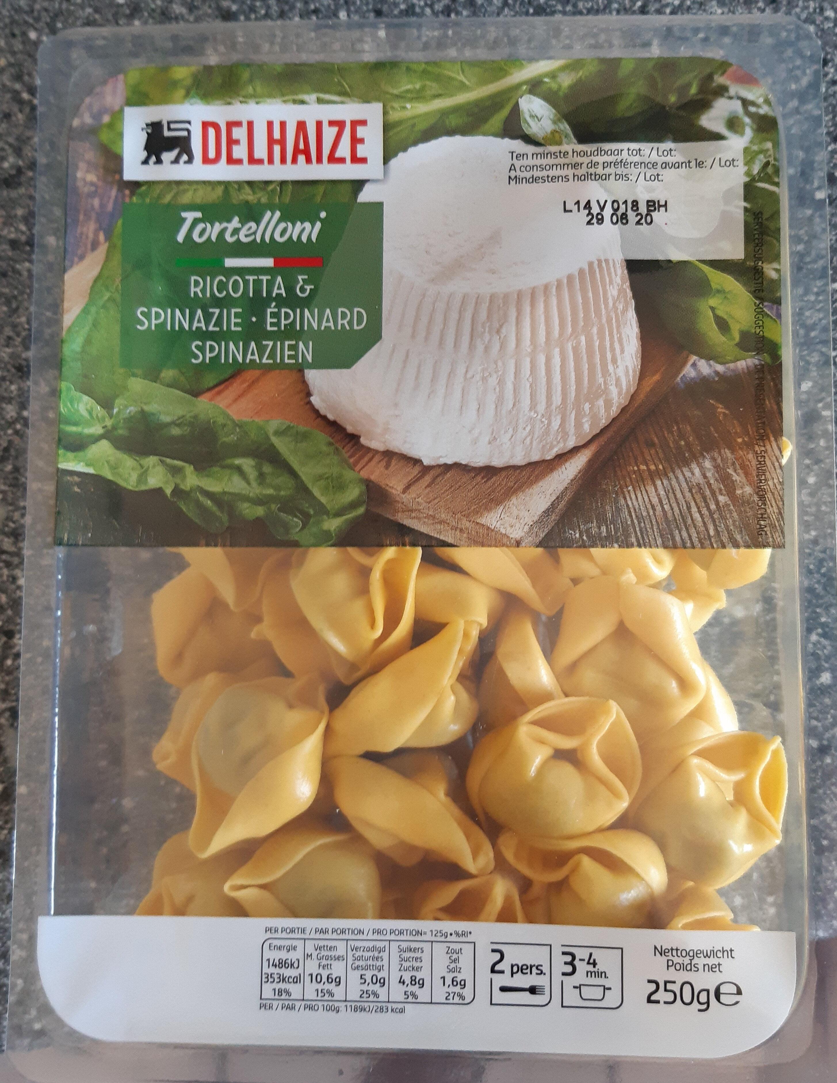 Tortellini Ricotta & Épinard - Product - fr
