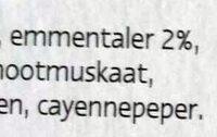 Gratin dauphinois - Ingrediënten - nl