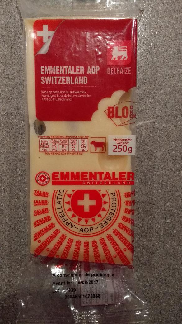 Emmentaler AOP Switzerland - Produit - fr