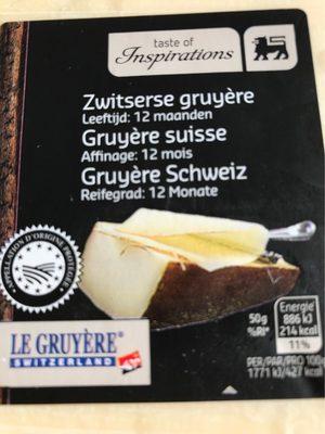 Gruyère suisse - Product