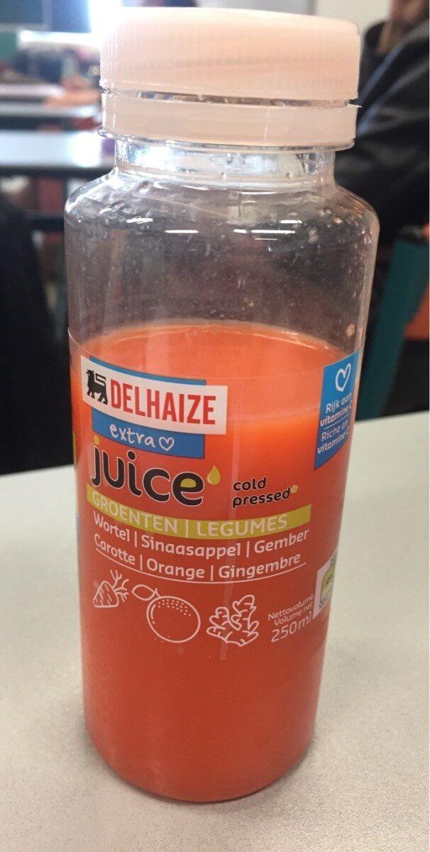 Juice cold pressed carotte orange et gingembre - Product - fr