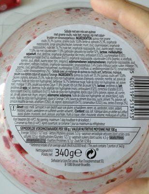 BUDDHA BOWL - Ingrediënten