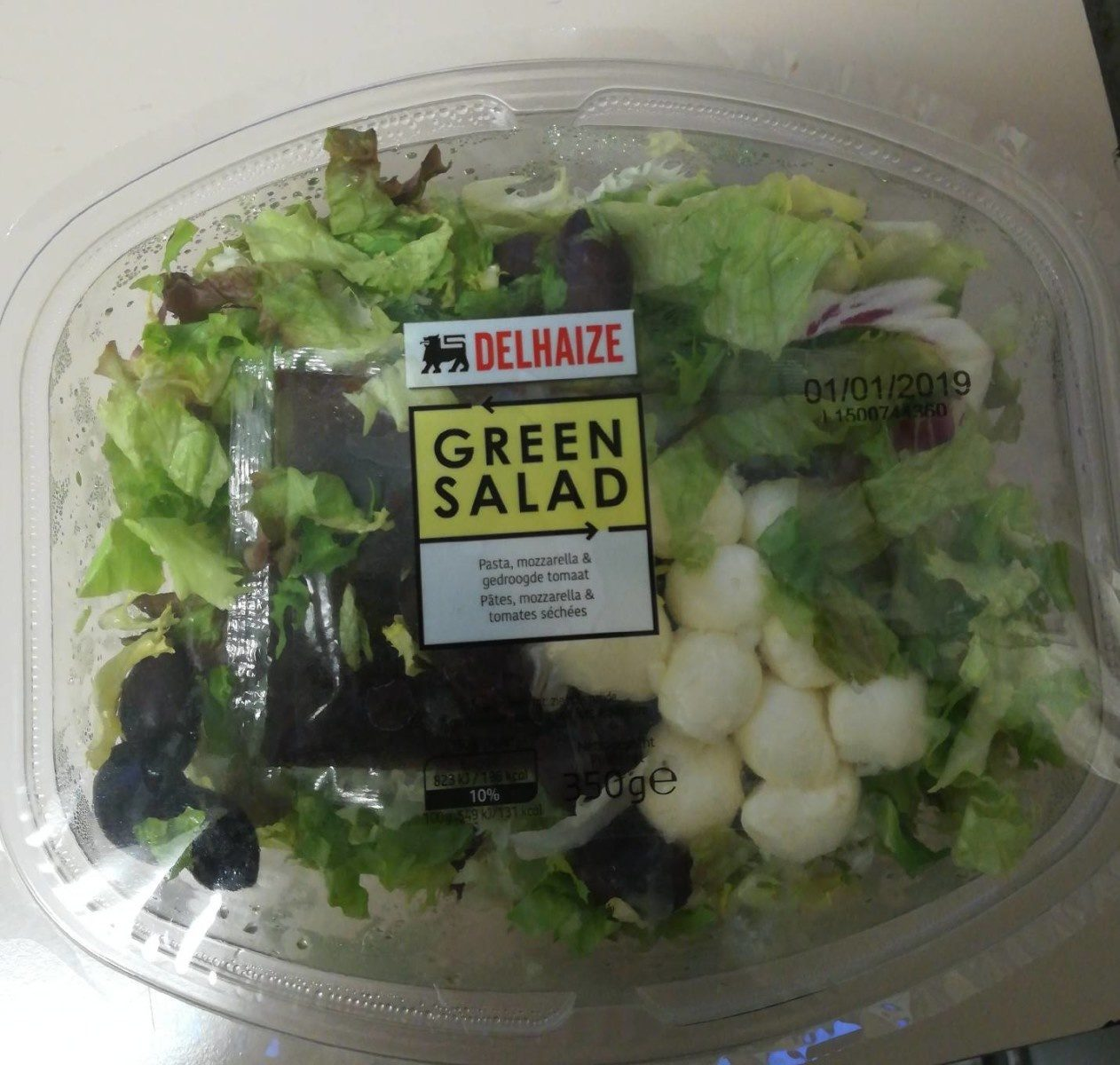 Salade verte - Pâtes, mozza et tomates - Produit - fr