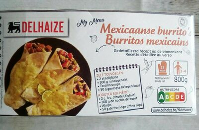 Burritos mexicains - Product - fr