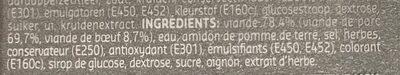 Saucisson Polonais - Ingrédients - fr