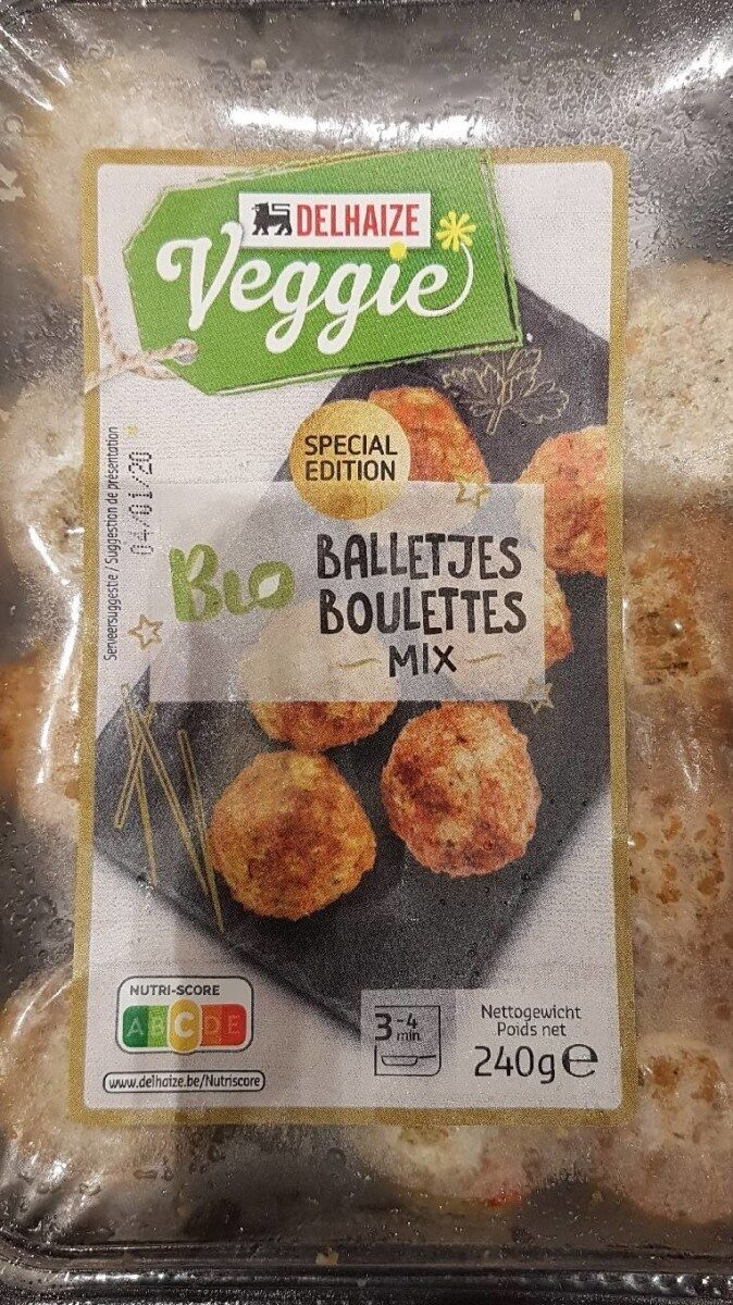 Boulettes mix - Product
