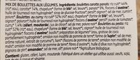 Boulettes mix - Ingrediënten - fr
