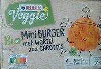 Mini burger aux carottes - Product