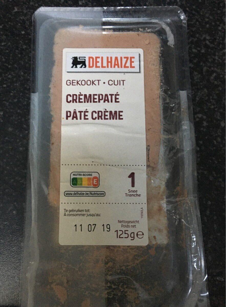 Crèmepaté - Product