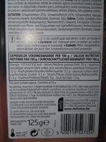 Crèmepaté - Voedigswaarden