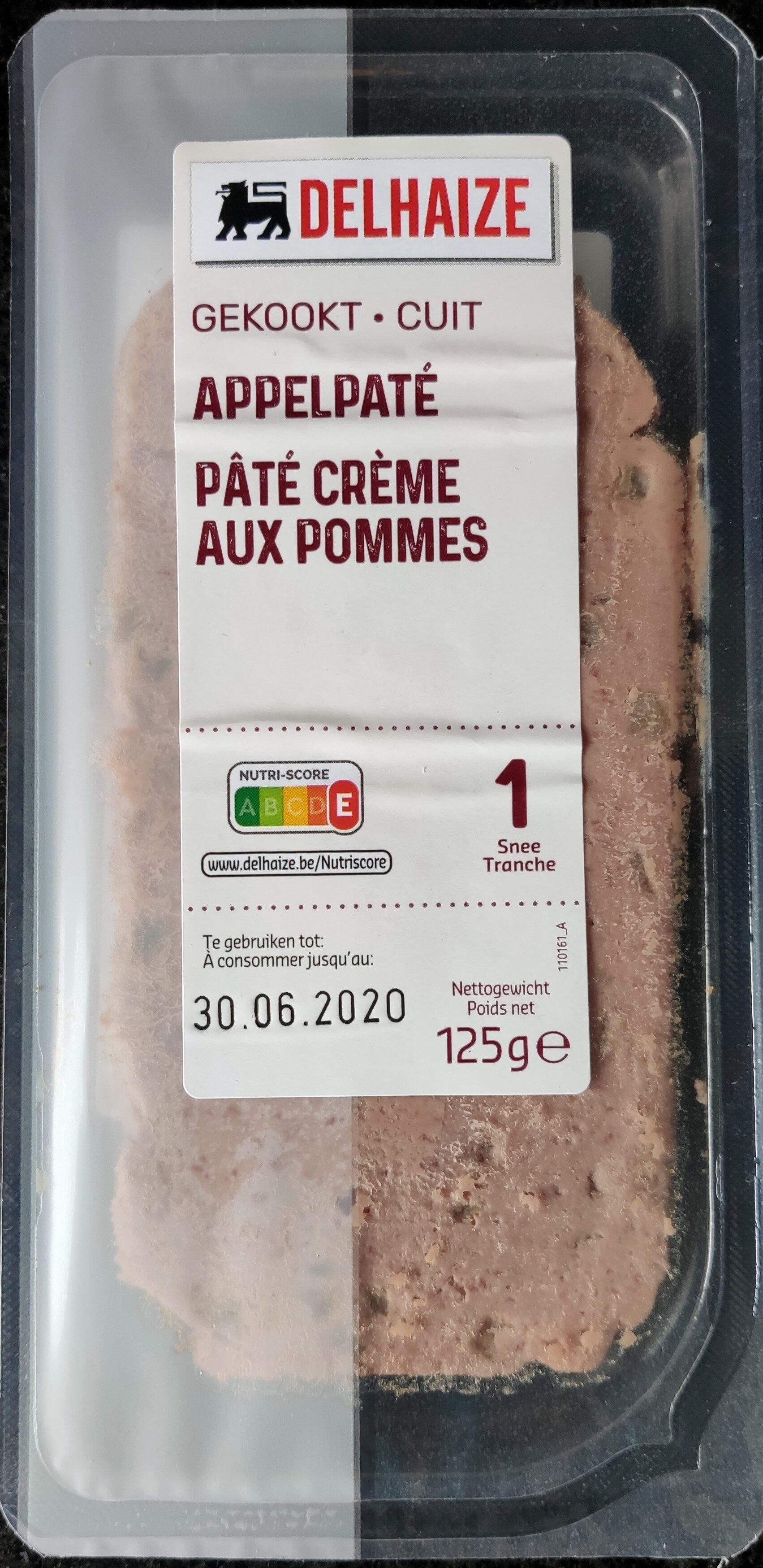 Pâté crème aux pommes - Product - fr