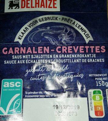 Crevettes sauce aux echalotes - Product - fr