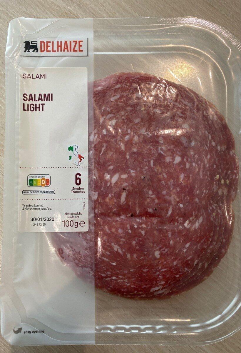 Salami light - Produit