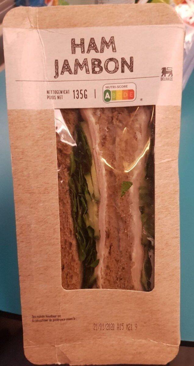 Sandwich au jambon Delhaize - Produit