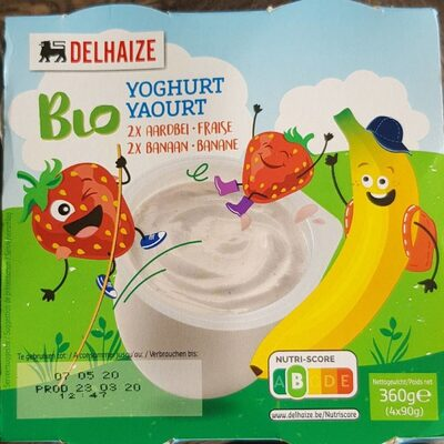 Bio yoghurt delhaize - Product - fr