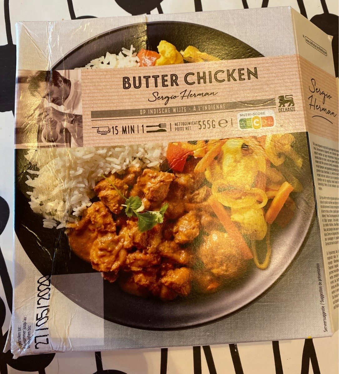 Butter chiken, Sergio Herman a l'indienne - Product - fr