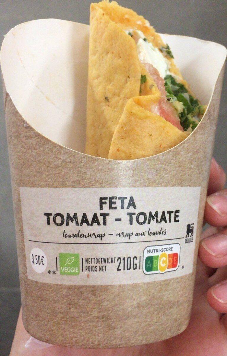 Wrap aux tomates - Product - fr