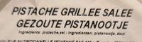 Apero Pistaches grillees salees - Ingrediënten - en