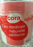 Eau minérale naturelle pétillante - Produit - fr