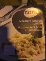 Macaroni met ham en roomsaus - Produit