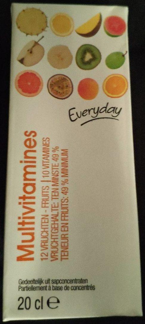 Nectar multivitamines - multifruits - Product
