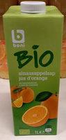 Boni Bio jus d'orange - Produit - fr