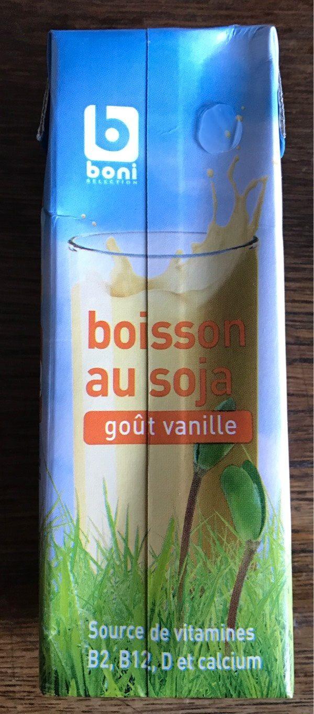 Boisson au soja goût vanille - Product - fr