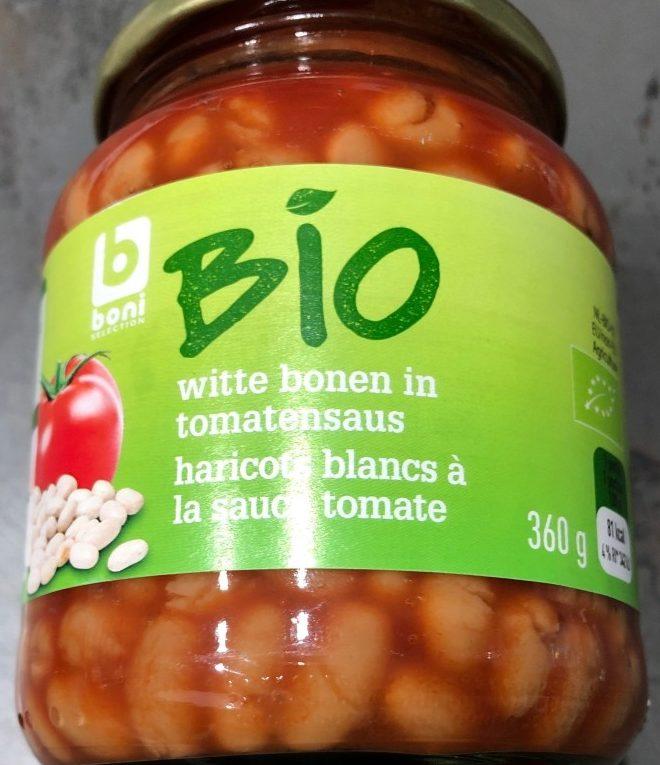 Haricots blancs à la sauce tomate - Product - fr
