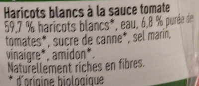 Haricots blancs à la sauce tomate - Ingrediënten - fr