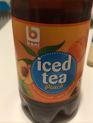 Iced tea Peach - Product - fr