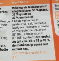 Spaghetti Mix - Ingrediënten