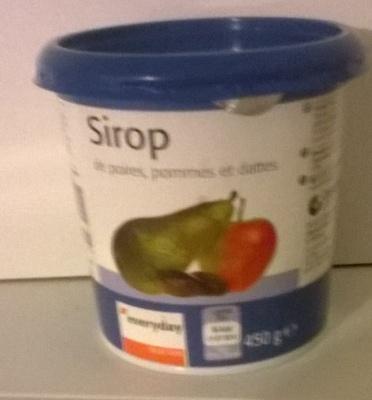 Sirop de poires pommes dattes - Product - fr
