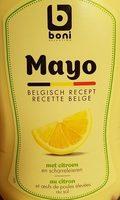 Mayo au citron - Produit