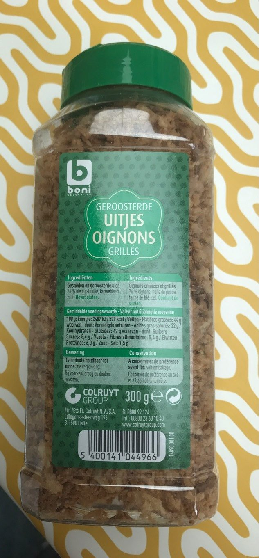 Oignons grillés - Product