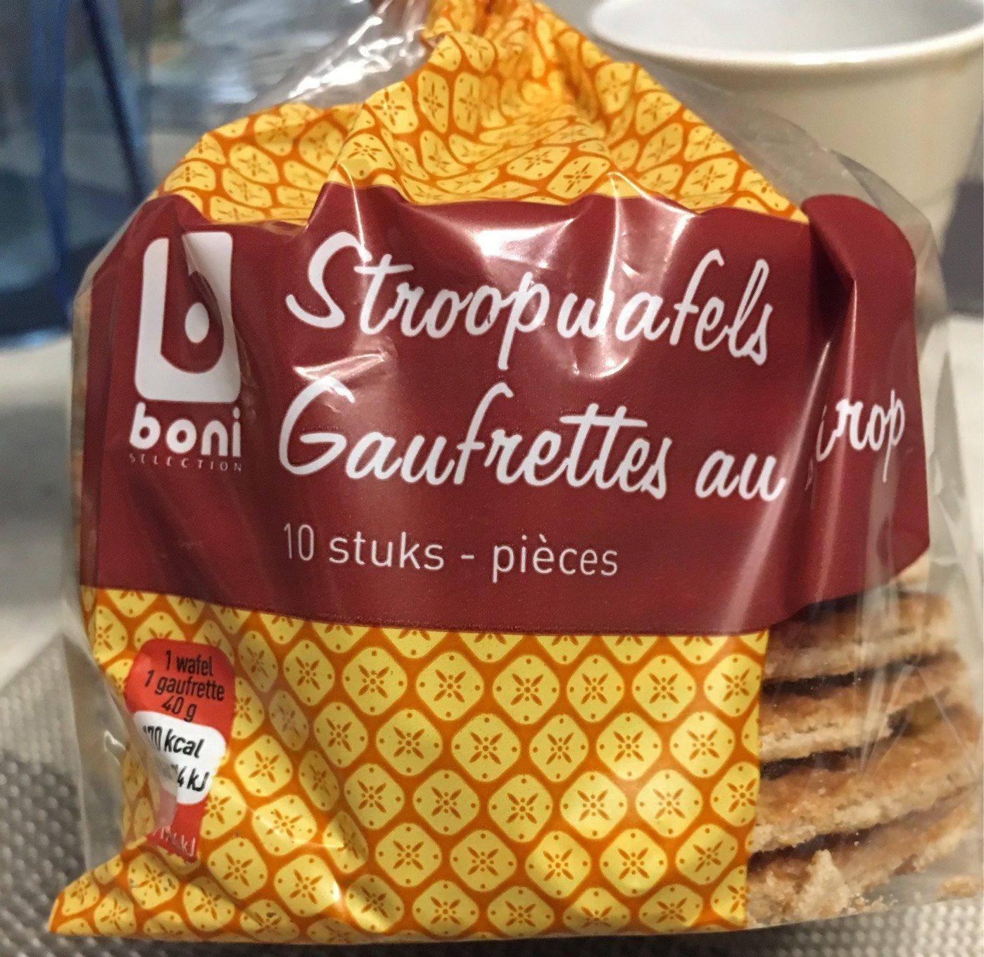 Gaufrettes au sirop - Product - fr