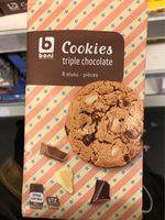 Cookies triple chocolate - Product - fr