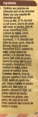 Cookies triple chocolate - Ingrediënten - fr