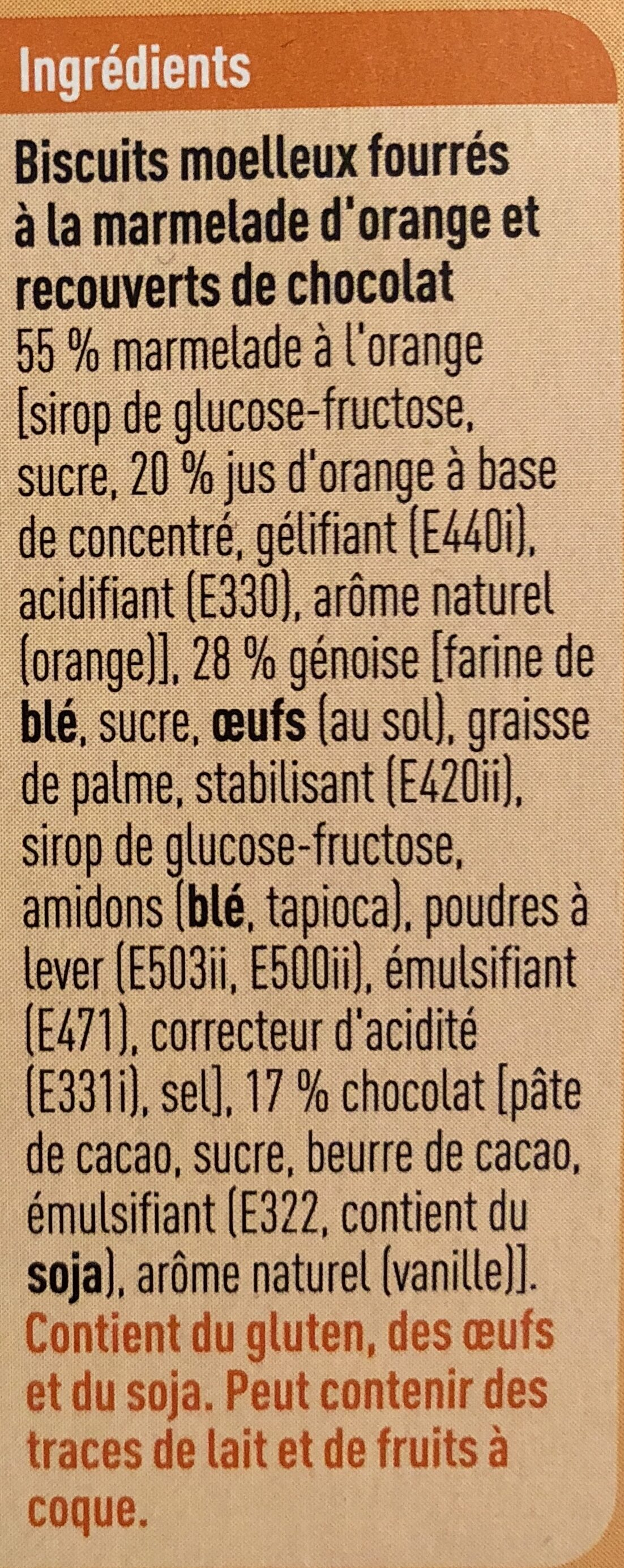 Orangicake - Ingredients