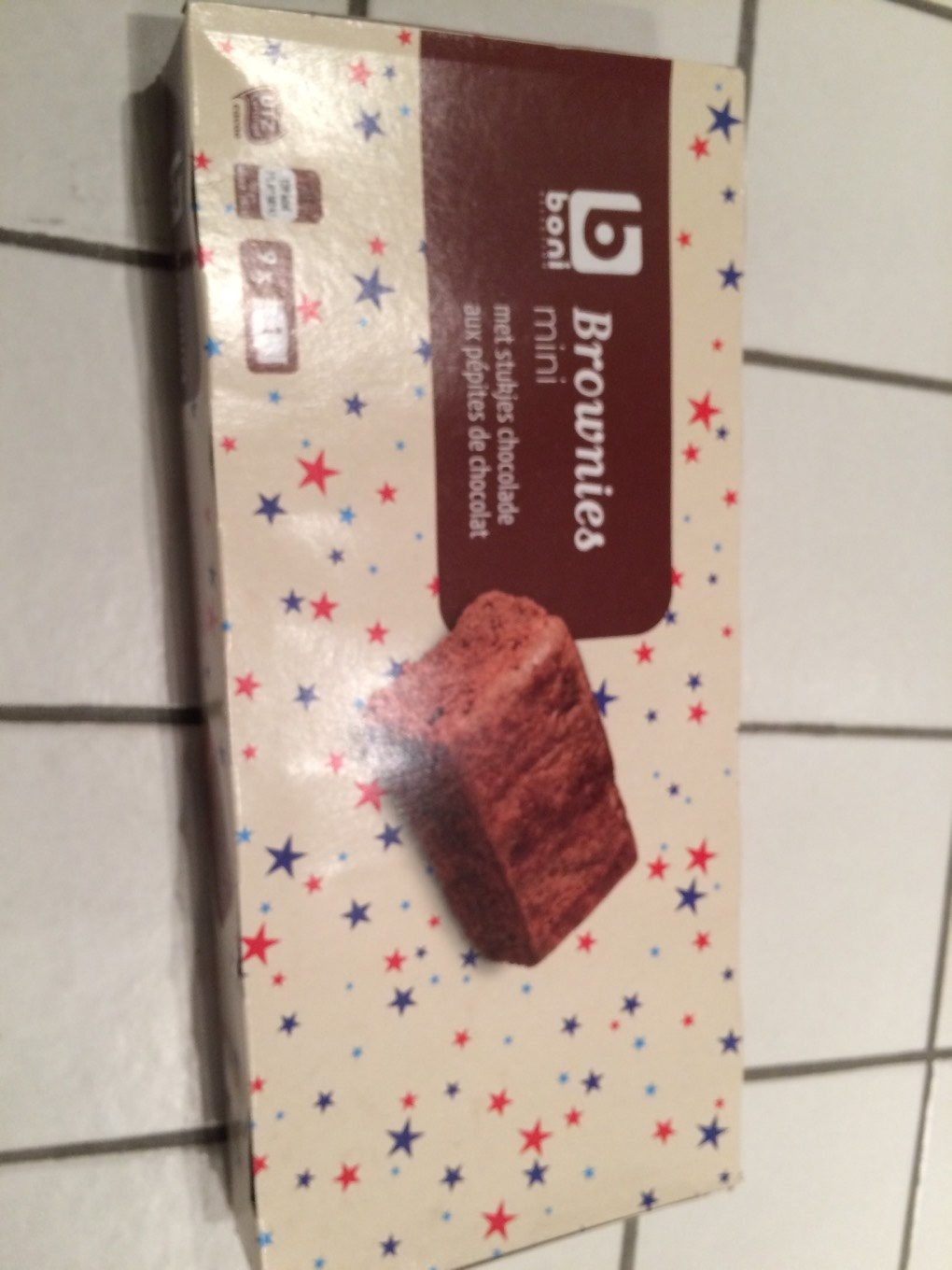 Brownies mini - Product - fr