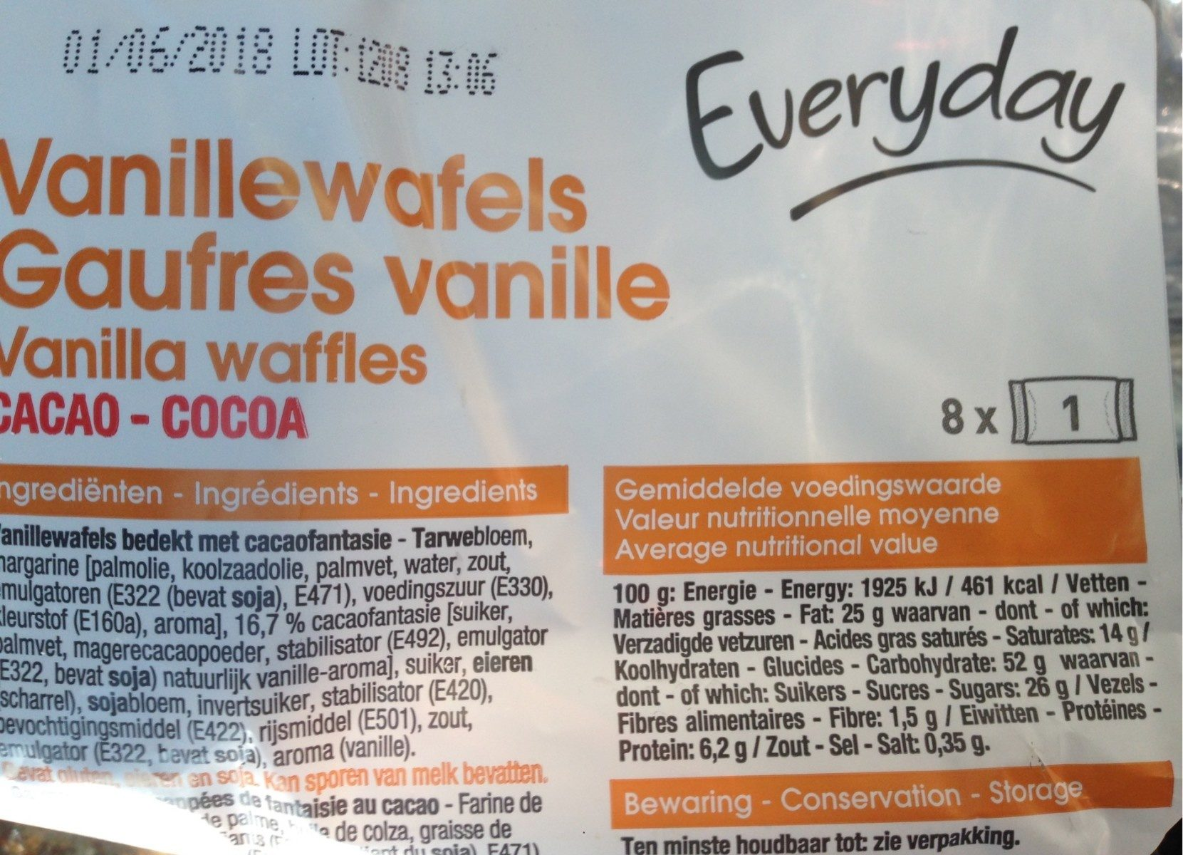 Gaufres Vanille - Cacao - Product