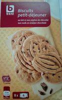 Biscuits Petit-déjeuner au Lait et aux Pépites de Chocolat - Product