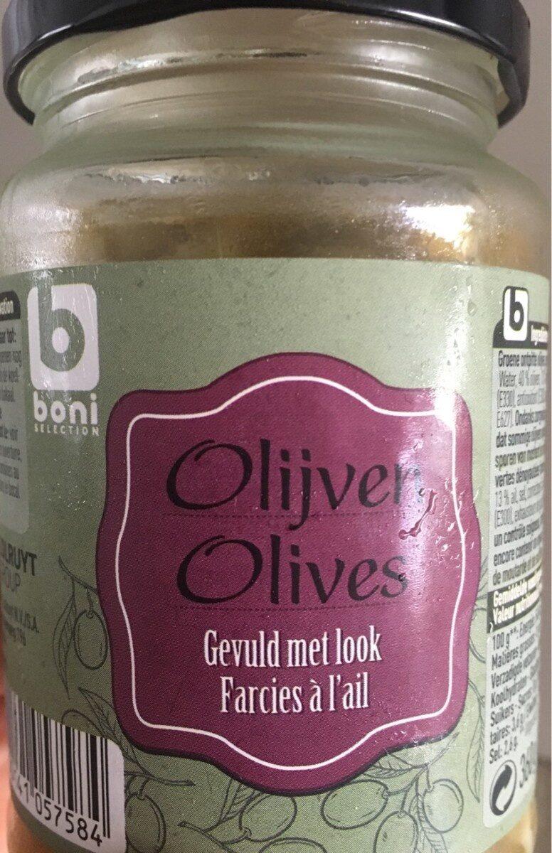 Olives farcies à l'ail - Product
