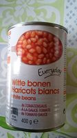 Haricot blancs a la sauce tomate - Product - nl